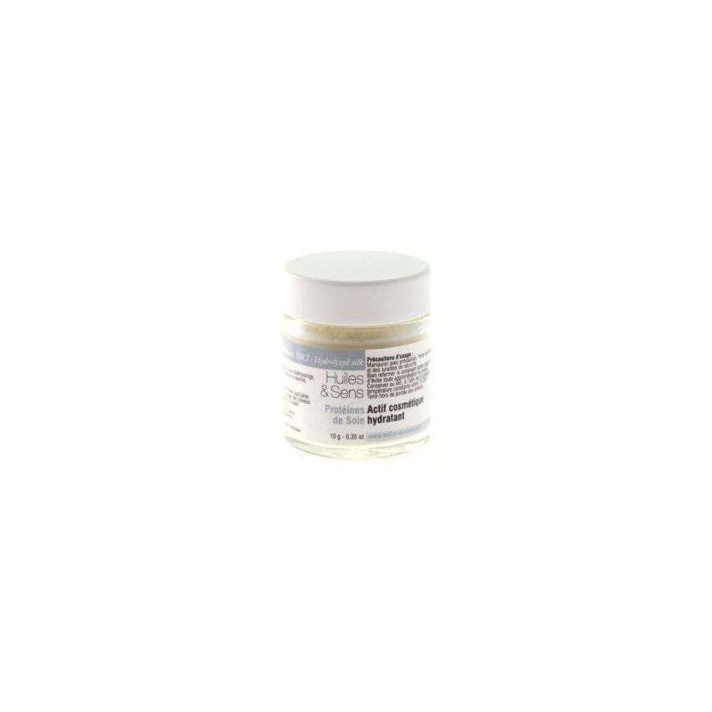 Proteina de seda hidrolizada 10 gr.