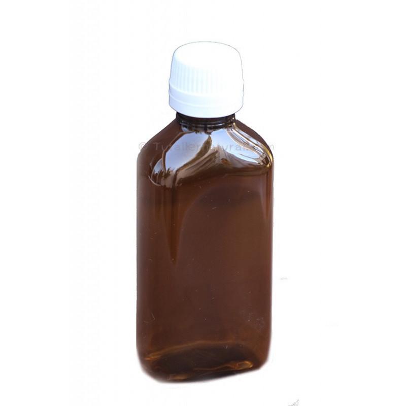 Botella PET opaca 200ml. tipo jarabe