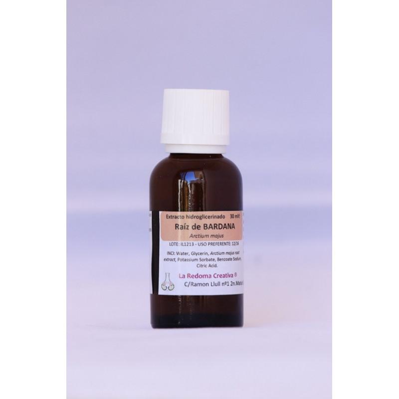 Extracto hidroglicerinado de bardana 30 ml.