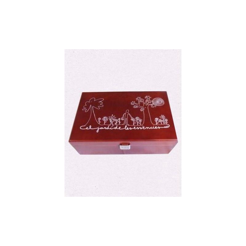 Kit Flores de Bach Caja de Madera