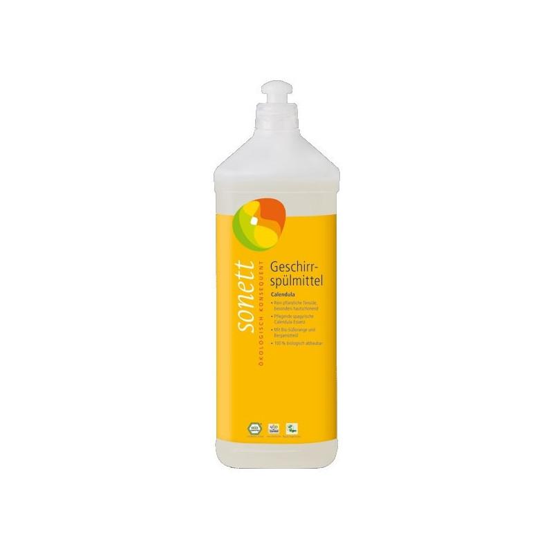 Lavavajillas líquido con caléndula 1L.