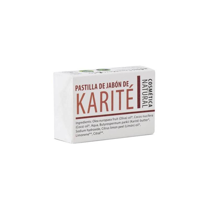Pastilla de jabón con karité BIO 85 gr.
