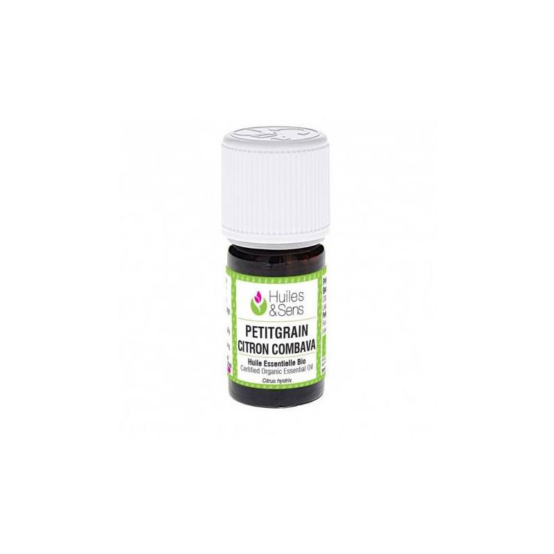Aceite esencial de petit grain limón combava BIO 5 ml.