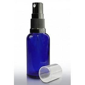 Frasco opaco de cristal Azul con pulverizador