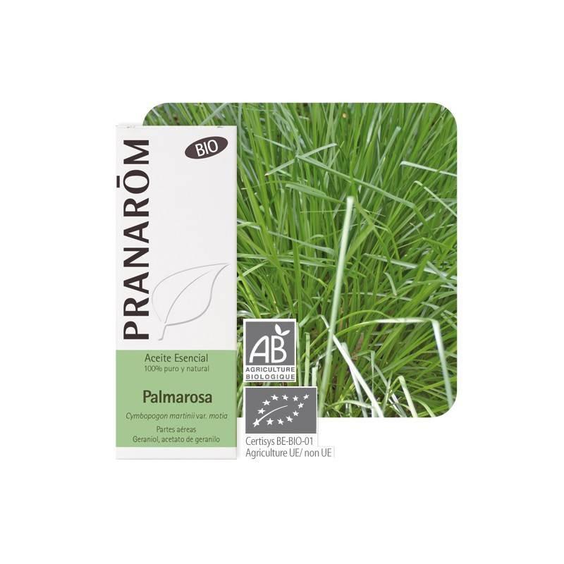 Aceite Esencial de Palmarosa 10 ml. BIO