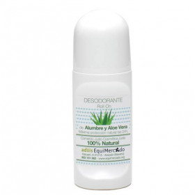 Desodorante de alumbre y aloe vera BIO 70 ml.