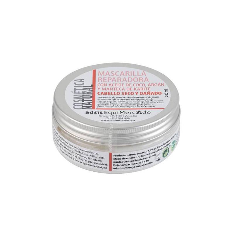 Mascarilla reparadora capilar BIO 200 ml.