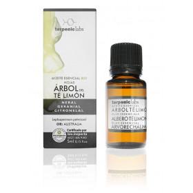 Aceite esencial de árbol del té limón o leptospermum alimonado BIO 5 ml.