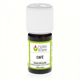 Extracto CO2 de café BIO 5 ml.
