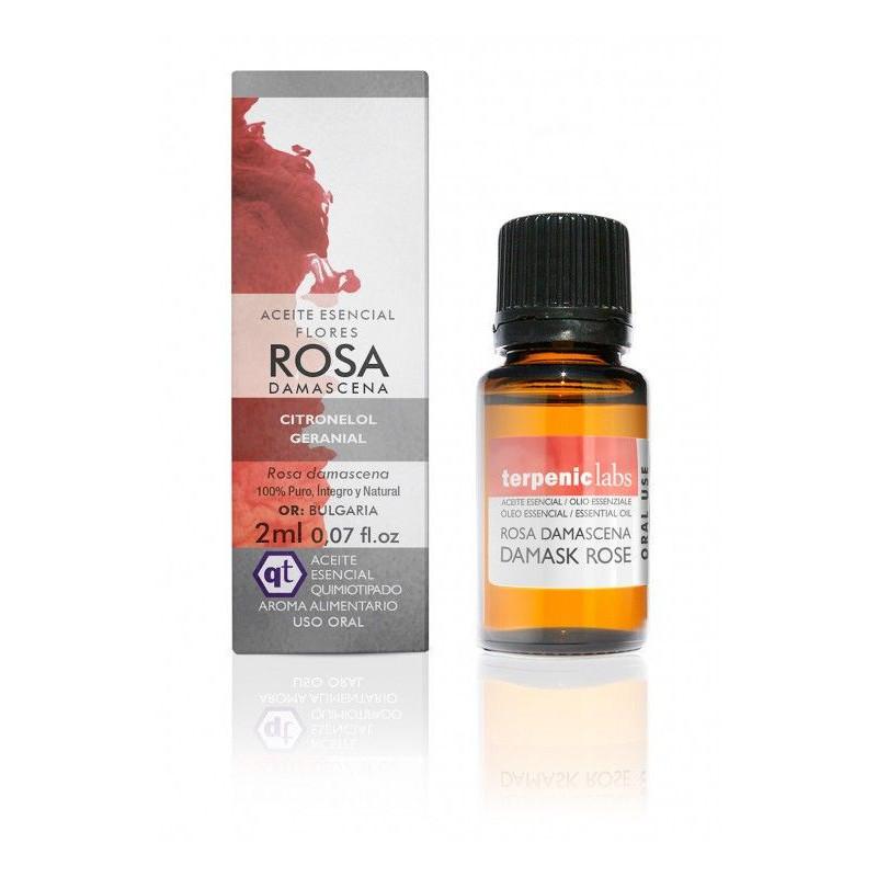 Aceite esencial de rosa damascena 2ml.