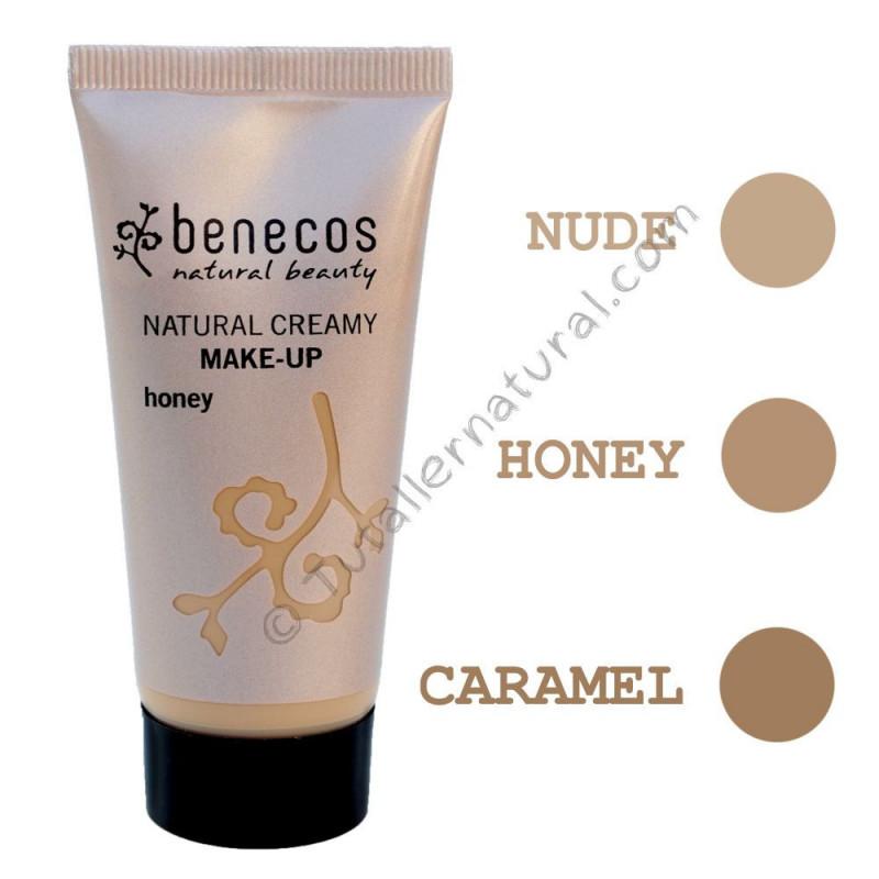 Maquillaje en crema natural Bio Vegan