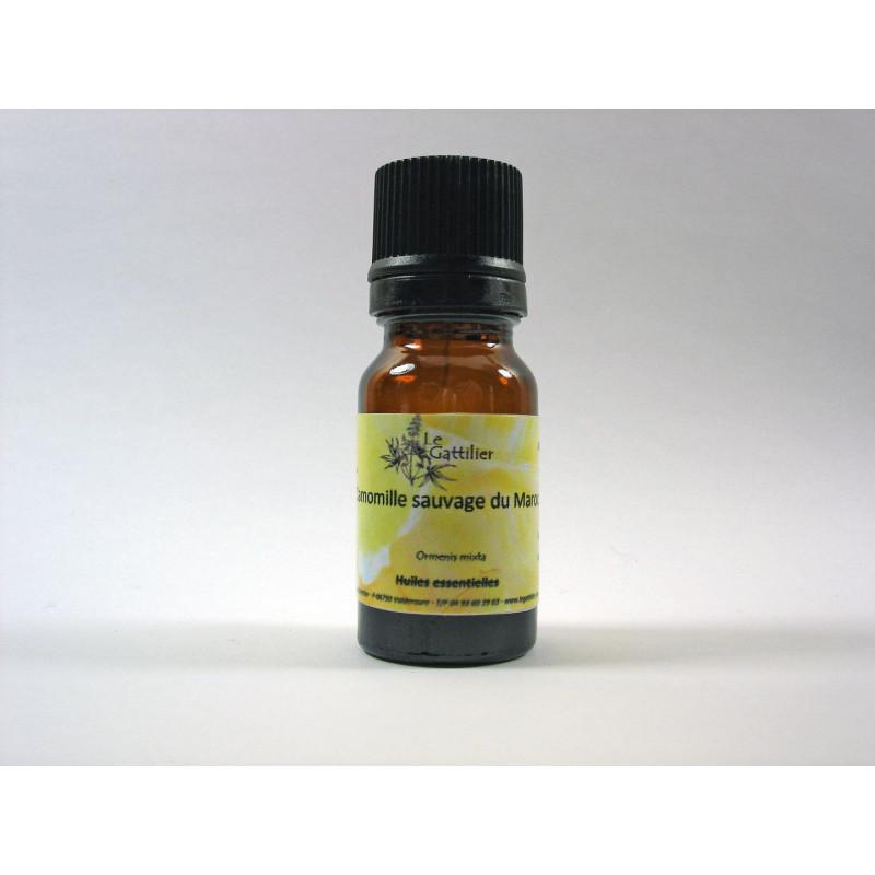 Aceite esencial de Manzanilla marroquí silvestre BIO 5 ml.