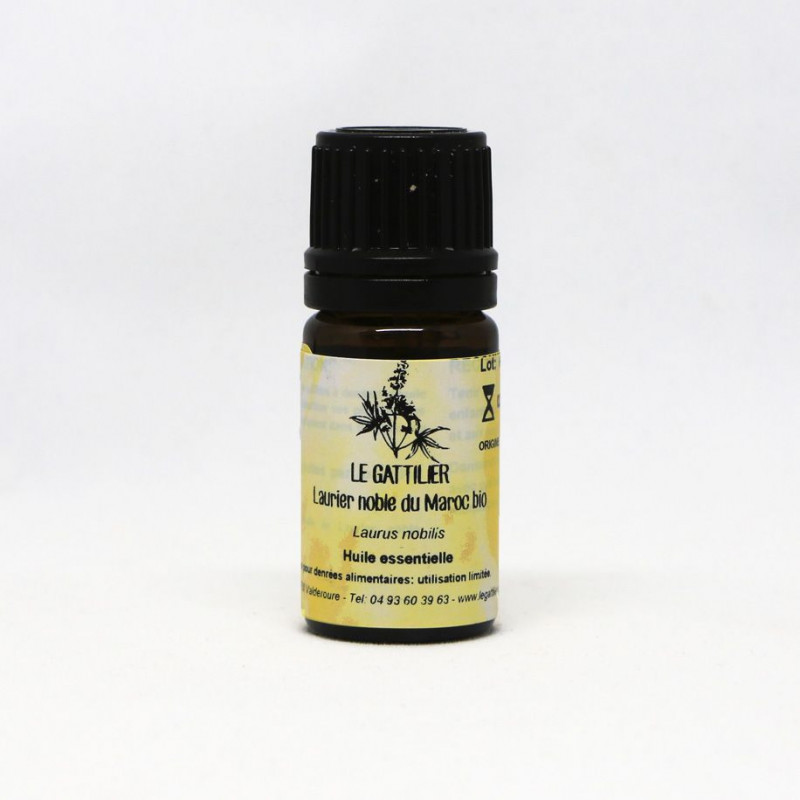 Aceite Esencial de Laurel silvestre BIO 5 ml. - Le Gattilier