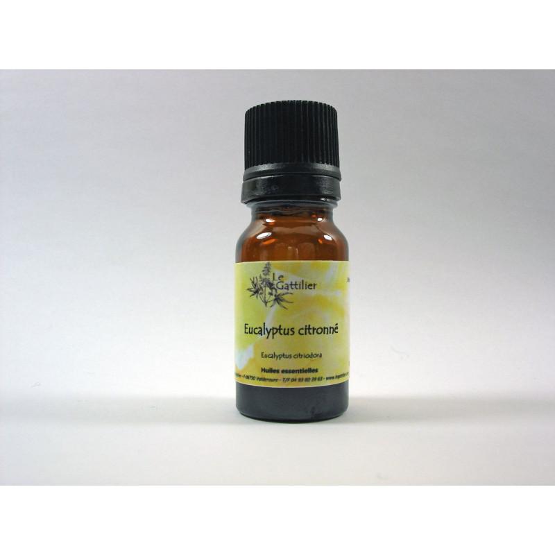 Aceite esencial de eucalipto citriodora o azul silvestre BIO 5 y 10 ml.