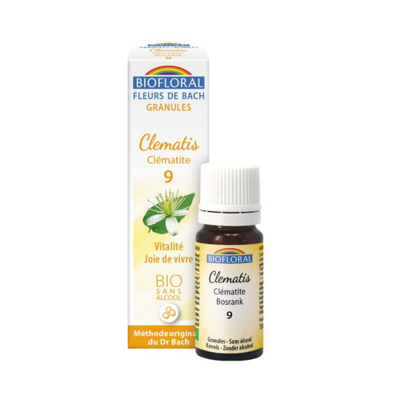 Clematis BIO 9 gr. sin alcohol (en gránulos)