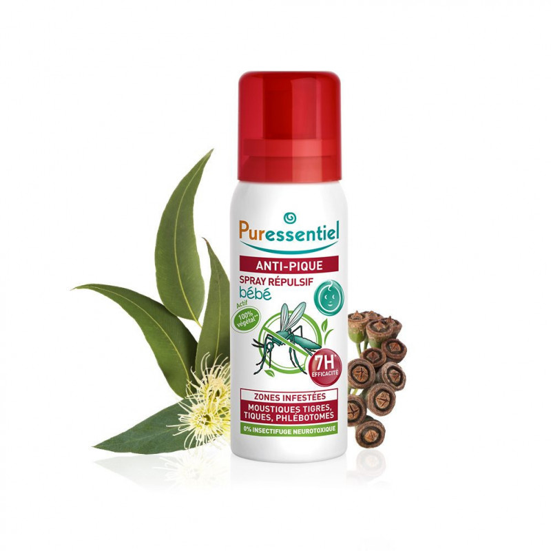 Spray bebé repelente y calmante mosquitos - Antipic 60ml.