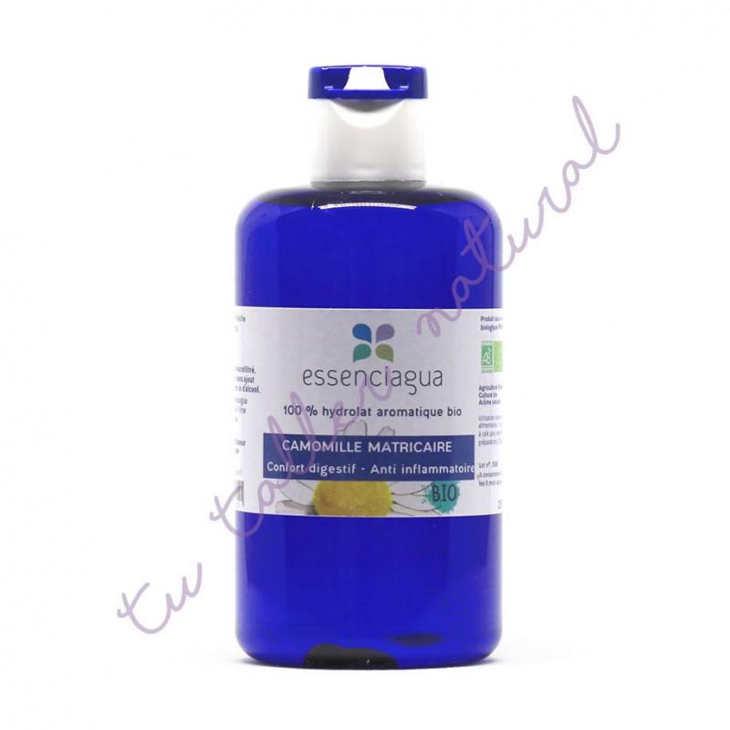Hidrolato de manzanilla alemana (matricaria) BIO 250 ml. (Apto vía oral) - Essenciagua