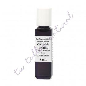 Aceite esencial de cedro del Atlas silvestre BIO 8 ml.