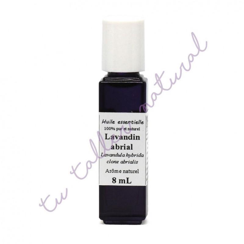 Aceite esencial de lavandín (clon abrial) BIO 8 ml. - Destillerie Les Essentielles