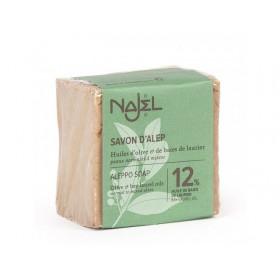 Jabón de Alepo con aceite de Laurel al 12% 200 gr