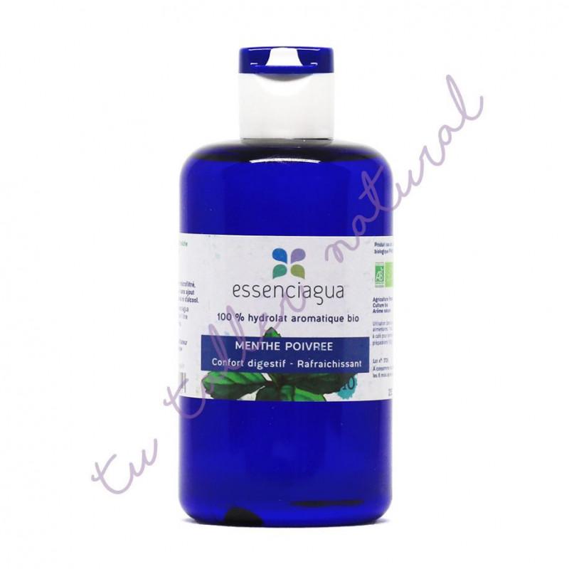 Hidrolato de menta piperita BIO 250 ml. (Apto vía oral) - Essenciagua
