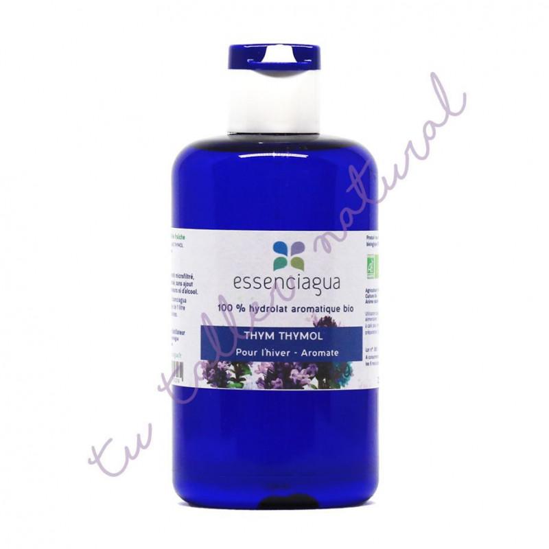 Hidrolato de tomillo timol BIO 250 ml. (apto para la vía oral) - Essenciagua