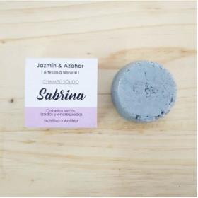 Champú sólido nutritivo y antifrizz Sabrina 100 gr.
