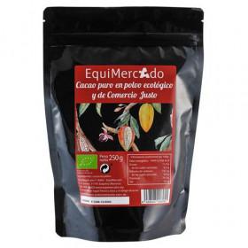 Cacao puro 100% BIO de Comercio Justo 250 gr.