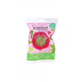 Esponja Konjac natural de té verde o arcilla roja
