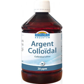 Plata Coloidal 20 ppm 500 ml.