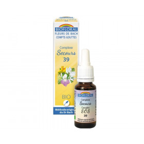 Emergencia (Rescate) BIO 20 ml. - Biofloral