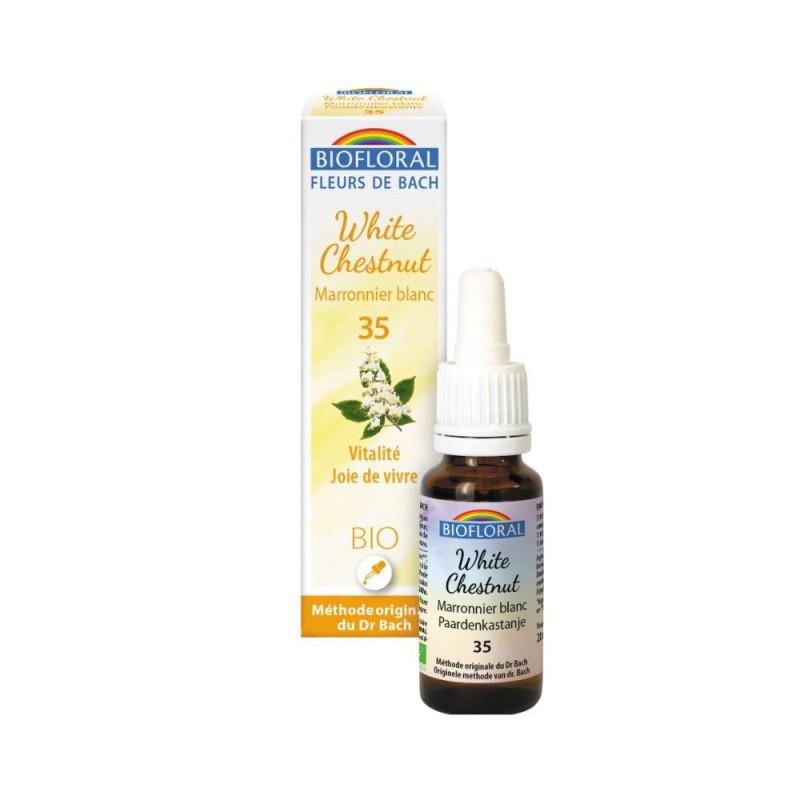 White chestnut BIO 20 ml. - Biofloral