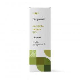 Aceite esencial de eucalipto radiata BIO 10 y 30 ml.
