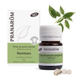 Aceite Esencial de Ravintsara BIO en perlas - Pranarom