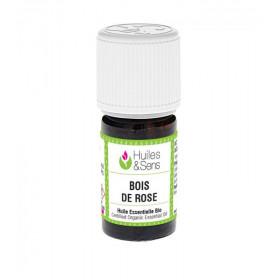 Aceite esencial de palo de rosa BIO 5 y 15 ml.
