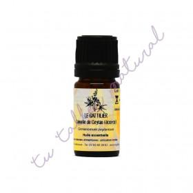Aceite esencial de canela de Ceylán (de Sri Lanka) (corteza) BIO 5 ml.