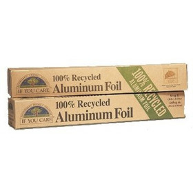 Papel de aluminio 100% reciclado 10 metros