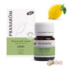 Aceite Esencial de limón (cáscara) BIO en perlas