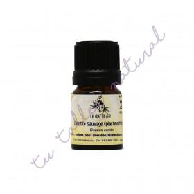 Aceite esencial de zanahoria silvestre (planta entera) BIO 2 ml.