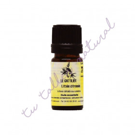 Aceite esencial de verbena exótica BIO 5 ml.