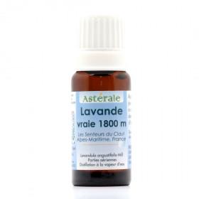 Aceite esencial de lavanda silvestre de Provenza 1800 metros BIO 5 ml.