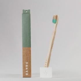 Cepillo de dientes de bambú (adulto)