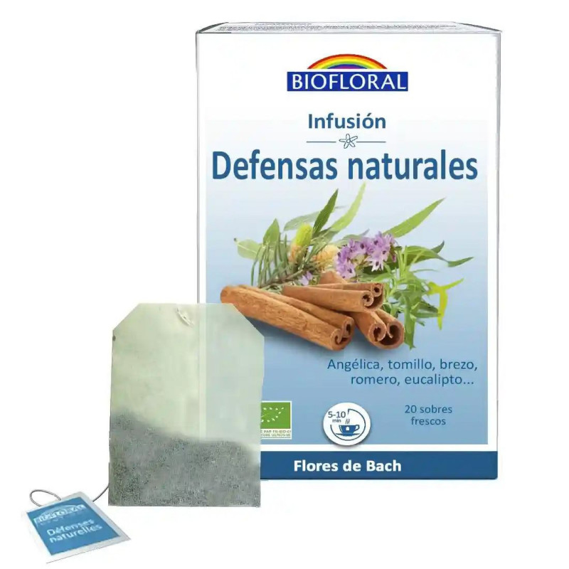 Infusión Defensas naturales (con Flores de Bach) Bio