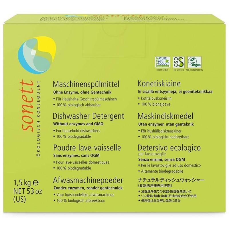 Detergente para lavavajillas ecológico 1,5 kg