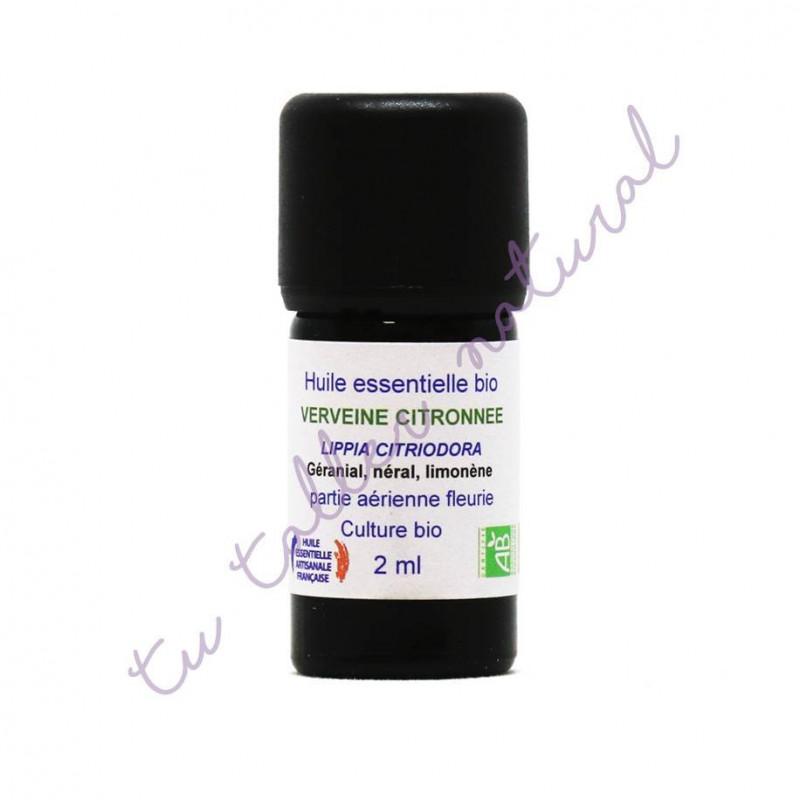 Aceite esencial de hierbaluisa BIO 2 ml. - Essenciagua