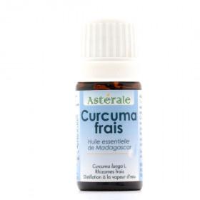 Aceite esencial de cúrcuma fresco BIO 5 ml.