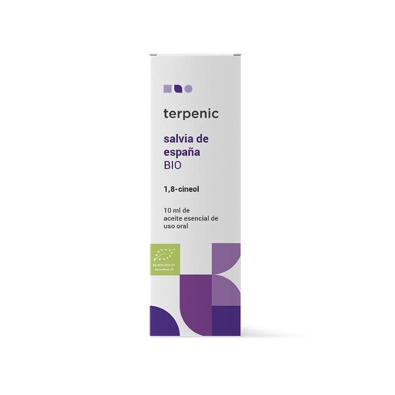 Aceite esencial de salvia de España BIO 10 ml.