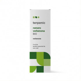 Aceite esencial de romero qt verbenona BIO 5 y 30 ml.