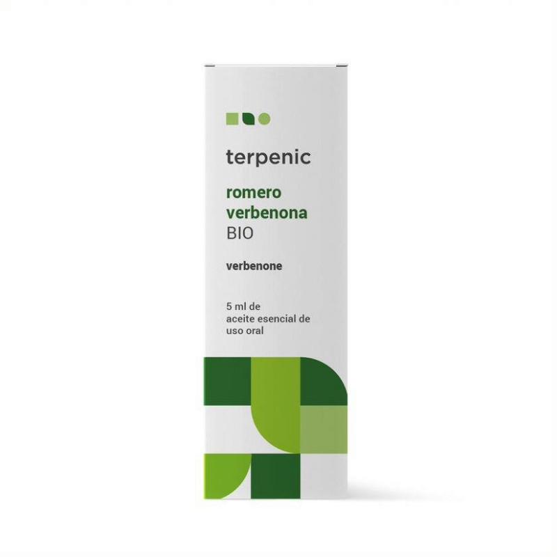 Aceite esencial de romero qt verbenona BIO 5 ml.