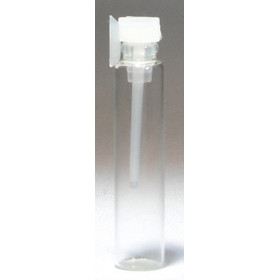 Esenciero de vidrio 2ml.